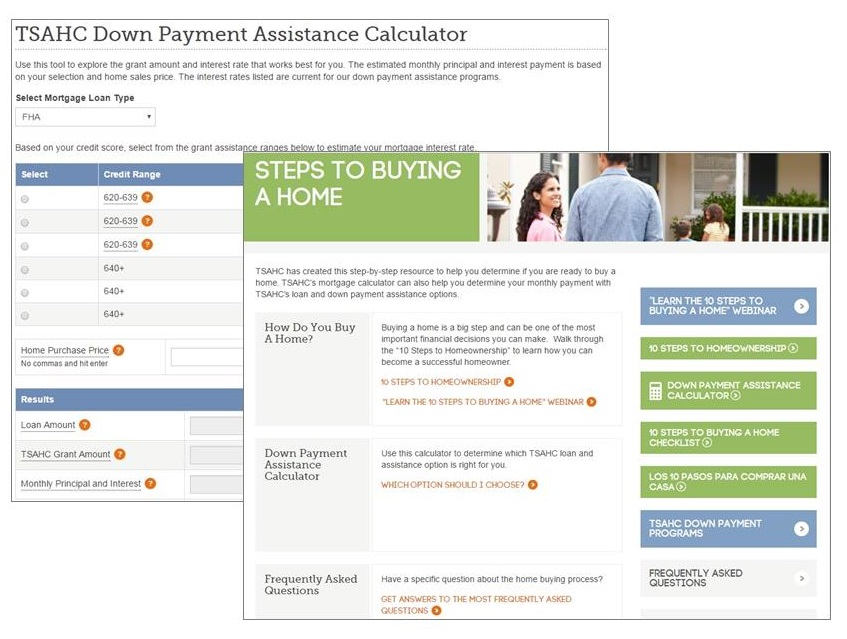 Down Payment Calculator >> Texas Financial Toolbox